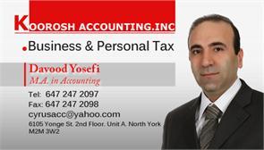 Cyrus(Koorosh) Accounting Inc.