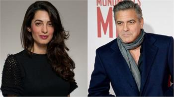 George Clooney reportedly engaged to Amal Alamuddin, a British lawyer