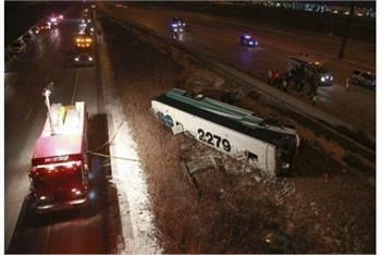 One dead after GO bus rollover in Vaughan