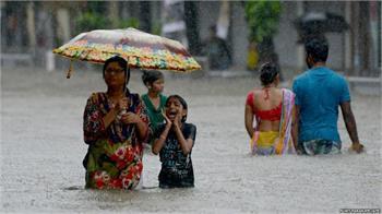 سیل در هند، بنگلادش و نپال؛ بیش از ۱۲۰۰ کشته، ۴۰ میلیون آسیب دیده