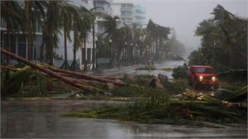 توفان ایرما به سوی جورجیا میرود و از شدت آن کاسته میشود