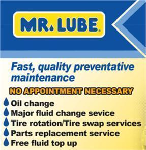 Mr. Lube 130-Fluid Changes: Engine Oil, Transmission, Coolant-Batteries, Emission ...