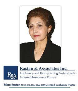 1- Rastan And Associates Inc. - Insolvency And Restructuring Professionals, Licensed Insolvency Trustee