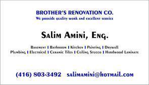 Brother's Renovation Co. شرکت ساختمانی برادران