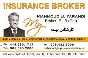 Zarvaragh - Mahmoud B. Yarandi , Broker, R.I.B (Ont) - 1 ...
