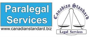 1- Canadian Standard - Legal Services - Paralegal Services