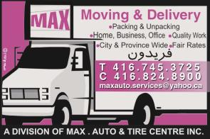 1- Max Moving And Delivery