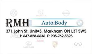 Rmh Towing And Auto Body