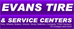 Evans Tire And Service Centers Inc