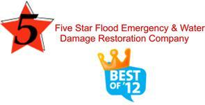 Five Star Flood Emergency And Water Damage Restoration Company