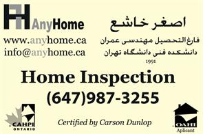Any Home - Home Inspection