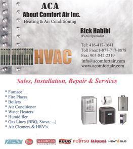 About Comfort Air Inc.(Aca)