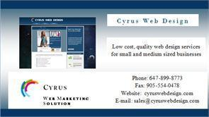 Cyrus Web Design