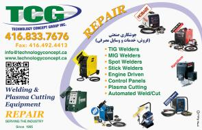 1- Technology Concept Group - Welding And Plasma Cutting Equipment(Sales,Service, Supplies)