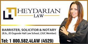 1-  Heydarian Law
